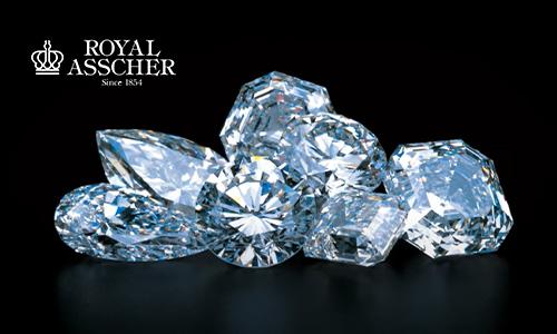ロイヤルアッシャーのダイヤモンド