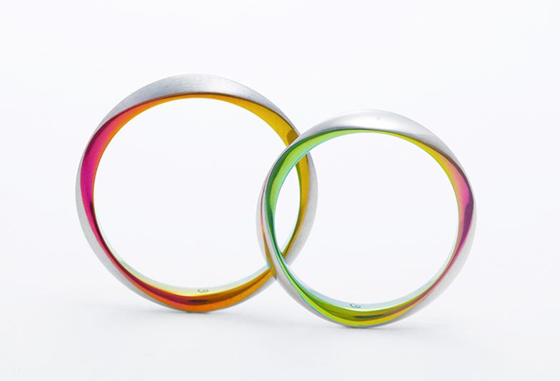SORAの結婚指輪 トリオレ